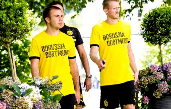 Mario Gotze Dan Andre Schurrle Menjadi Starter Saat Borussia Dortmund Kalah 0 – 1 Dari Athletic Bilbao