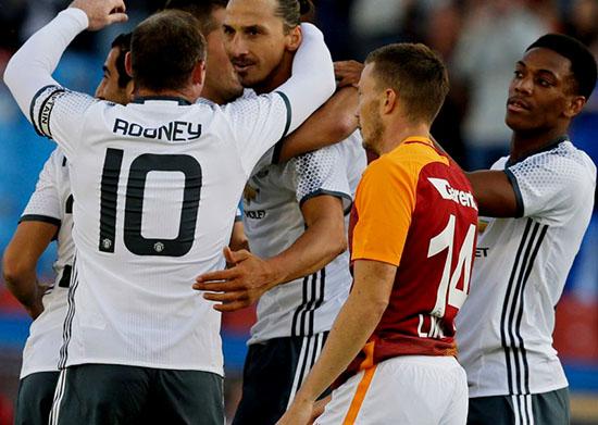 Zlatan Ibrahimovic Butuh Kurang Dari 200 Detik Untuk Mencetak Gol Debut Manchester United