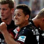 Javier Hernandez Mendapat Banyak Pujian Setelah Mencetak Hatrik Ke Gawang Mainz